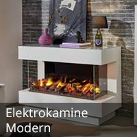 Moderne Elektrokamine