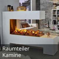 Raumteiler-Kamine